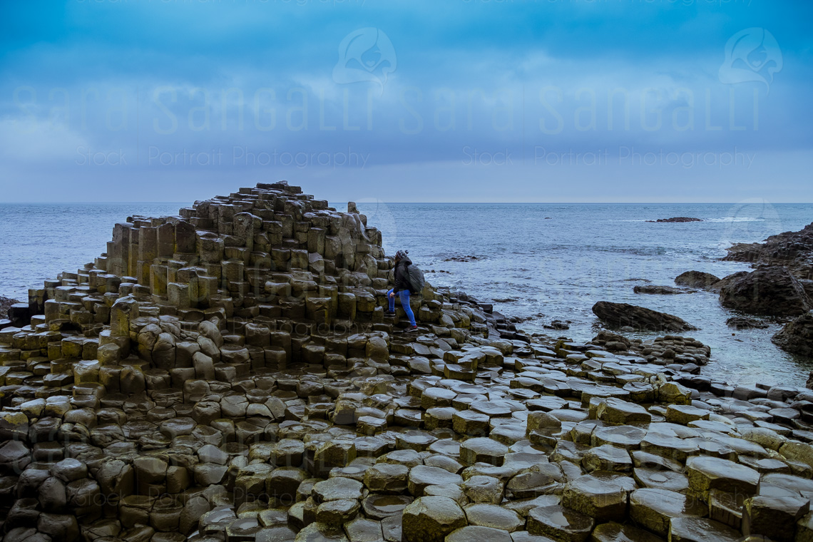 La parte più iconica del Selciato dei Giganti, a Bushmills, nell'Irlanda del Nord. | © Sara Sangalli