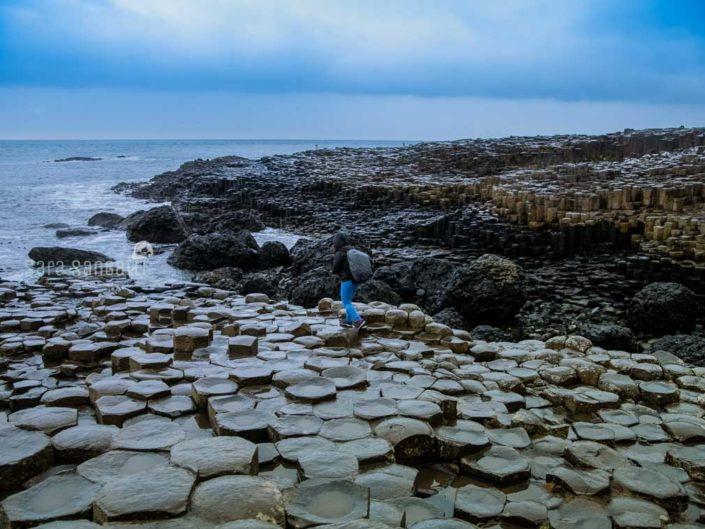 Selciato dei Giganti, a circa 3 km a nord della cittadina di Bushmills, in Irlanda del nord | © Sara Sangalli