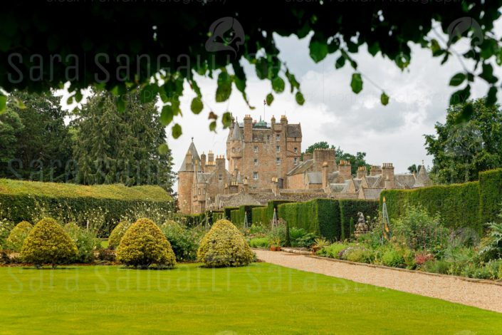 Glamis Castle is situated beside the village of Glamis in Angus, Scotland. Home of the Earl and Countess of Strathmore and Kinghorne, is open to the public