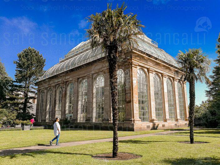 The Temperate Palm House. Giardino Botanico Reale di Edimburgo
